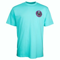 T-Shirt Santa Cruz Speed Wheels Shark Pacific Blue