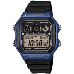 Montre Bleue Casio AE-1300WH-2AVEF