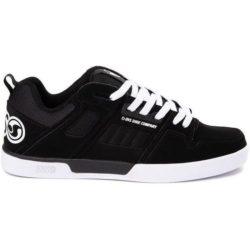 Chaussures de skate DVS Comanche 2.0 Noir ((Black White Nubuck ))