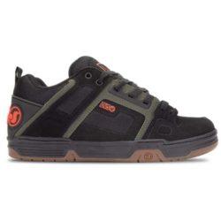 Chaussures DVS Comanche noir (Black Olive Gum Nubuck)