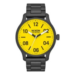 Montre Nixon Patrol Noire (All Black Yellow ) A1242-3132-00