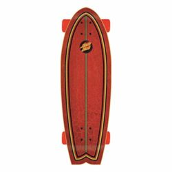 Skateboard cruiser complet Santa Cruz Flame Dot Factory Shark shape