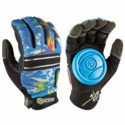 Paire de gants Longboard Sector 9 Apex Slide bleu