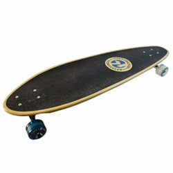 Longboard Kryptonics Green Bottle en érable Canadien et roues 60mm shape