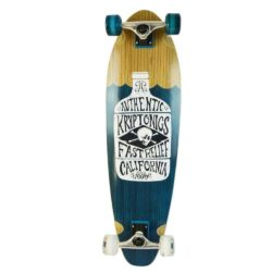 Longboard Kryptonics Green Bottle en érable Canadien et roues 60mm