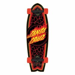 cruiser Santa Cruz Flame Dot Factory Shark