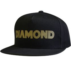 Casquette Snapback Diamond Supply Co. Track Black