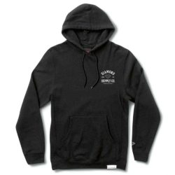 Sweat à capuche Noir Diamond Supply Co. Athletic Hoodie Black