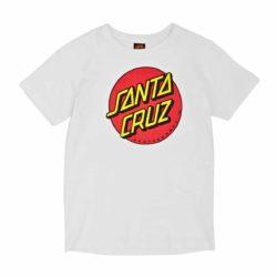T-Shirt Santa Cruz blanc enfant