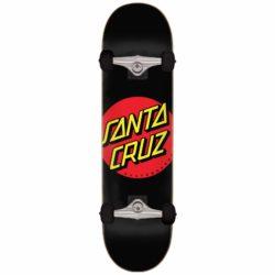 Skateboard Santa Cruz Classic Dot noir 8.0″