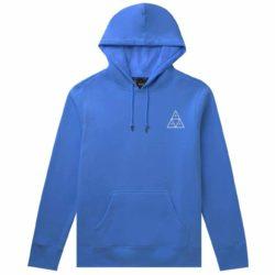 Sweat à capuche HUF Essentials Nebulas Bleu