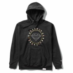 Sweat à capuche Diamond Supply Co. Diamond Chain Hoodie Black