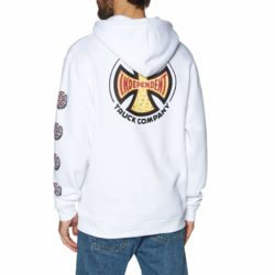 Sweat à capuche Independent Suds Hoody White