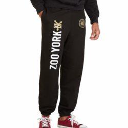 Pantalon de jogging Zoo York Emblem noir pour homme