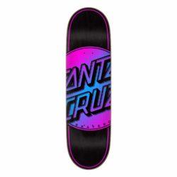 Santa Cruz Total Dot Vx Black Pink deck 8.8″