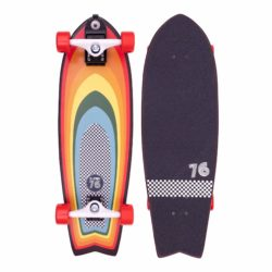 Longboard cruiser Z-Flex Surf-a-gogo Surfskate Fish