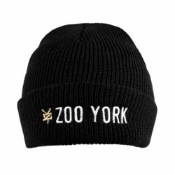 Bonnet Zoo York Text Logo Noir