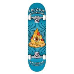 Skateboard complet Cruzade Illuminaty Pizza 8.0″