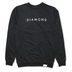 Sweatshirt Diamond Supply Co. Futura Charcoal (gris)