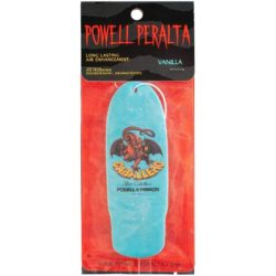 Désodorisant voiture Powell Peralta Air Freshner OG Cab Dragon Blue Vanilla