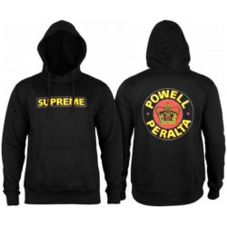Sweat à capuche Powell-Peralta Supreme noir black vice et versa