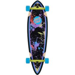 Longboard Santa Cruz Dot Splatter Pintail 33""