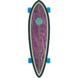"Longboard Santa Cruz Dot Splatter Pintail 33"" SHAPE"
