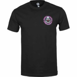 T-Shirt Santa Cruz Speed Wheels Shark noir