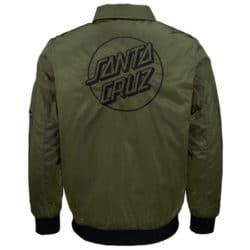 Veste verte Santa Cruz avec logo