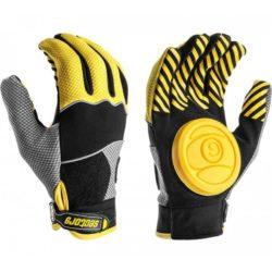 Paire de gants Longboard Sector 9 Apex Slide Jaunes