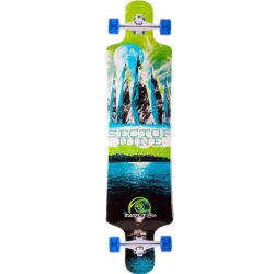 Longboard complet Sector 9 Faultline green