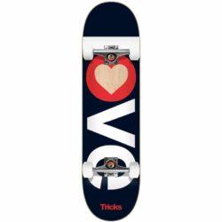 "Skateboard complet Tricks Love 7.25"""