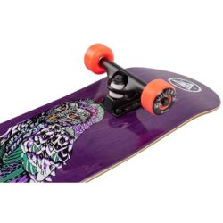 Skateboard complet Welcome Hooter Shooter Factory Violet 8.0″ trucks