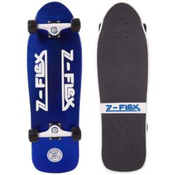 Skateboard Cruiser Z-Flex Jay Adams 80's Blue Crystal Z-Bar