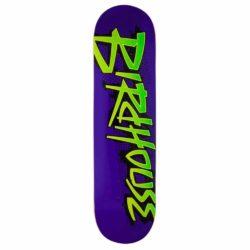 Birdhouse Splatter Logo Purple DECK 8.125″