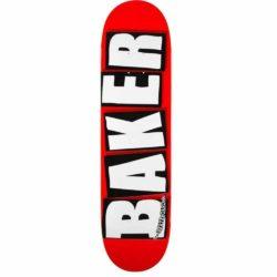 """Baker""""Brand logo white deck 8.125″"""