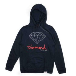 Diamond Supply Co. OG Sign Core Hoodie Navy