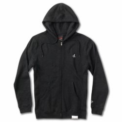 Diamond Supply Co. Mini Un Polo Zip Hoodie Black