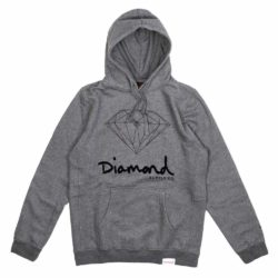 Sweat à capuche Diamond Supply Co. OG Sign Core Hoodie Gunmetal