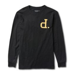 T-shirt manches longues Diamond Supply Co. Polo Football Top Black