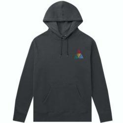 Sweat à capuche HUF Peak Sportif hoodie noir (black)