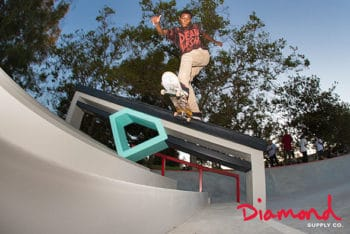 Diamond skate ads