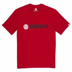 T-shirt Element rouge