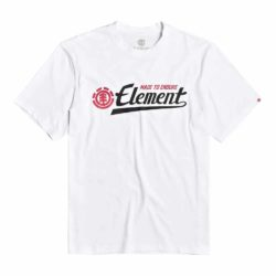 T-shirt Element Signature SS Optic White