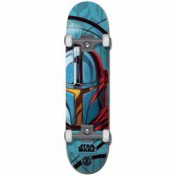 Skateboard complet Element X Star Wars Mandolorian Mando 7.75″