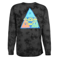 HUF Acid Skull Triple Triangle | T-shirt Manches Longues Noir back