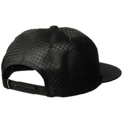 Casquette HUF Check Baseball Cap Snapback Noire back