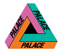 logo Palace skateboard color