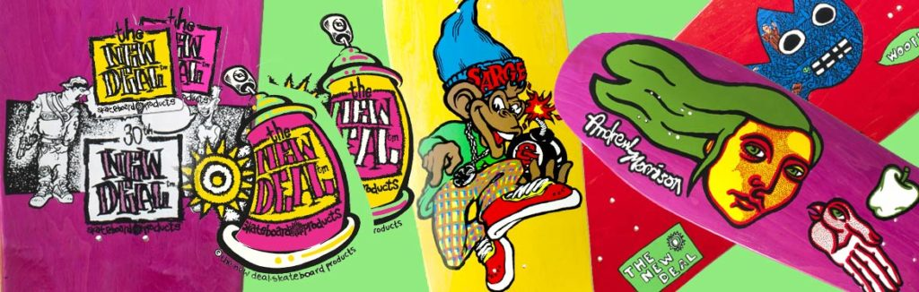 Produits New Deal Skateboards en stock