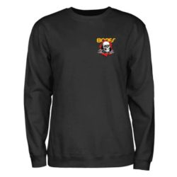 Sweat-shirt Powell-Peralta Bones Ripper noir